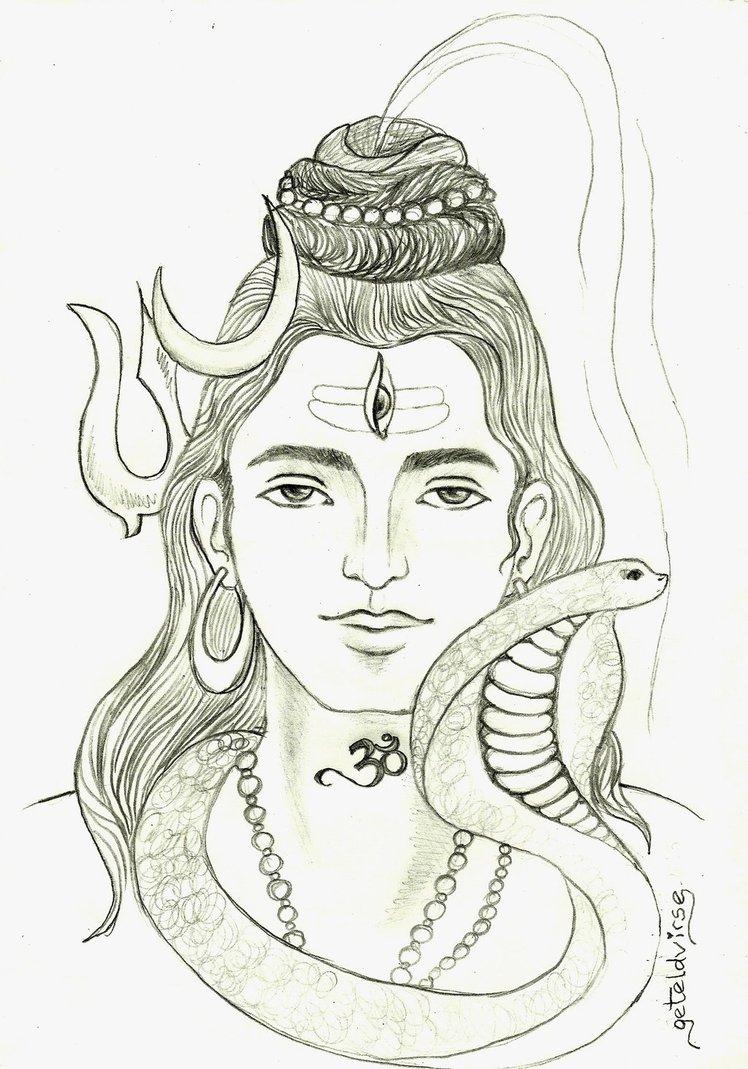 748x1069 lord mahadev pencil drawing pic best shiva pencil drawings lord