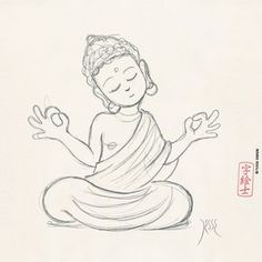 236x236 How To Draw Buddha Easy Art Buddha, Easy And Paintings
