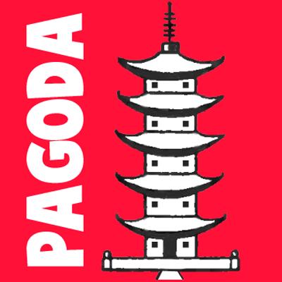 400x400 How To Draw A Cartoon Pagoda