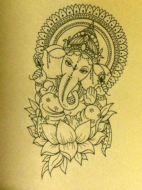 Ganesha S Elephantine Head And Human Body Are Explained As Follows In The Mudgala Purana