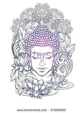 290x393 Buddha Head
