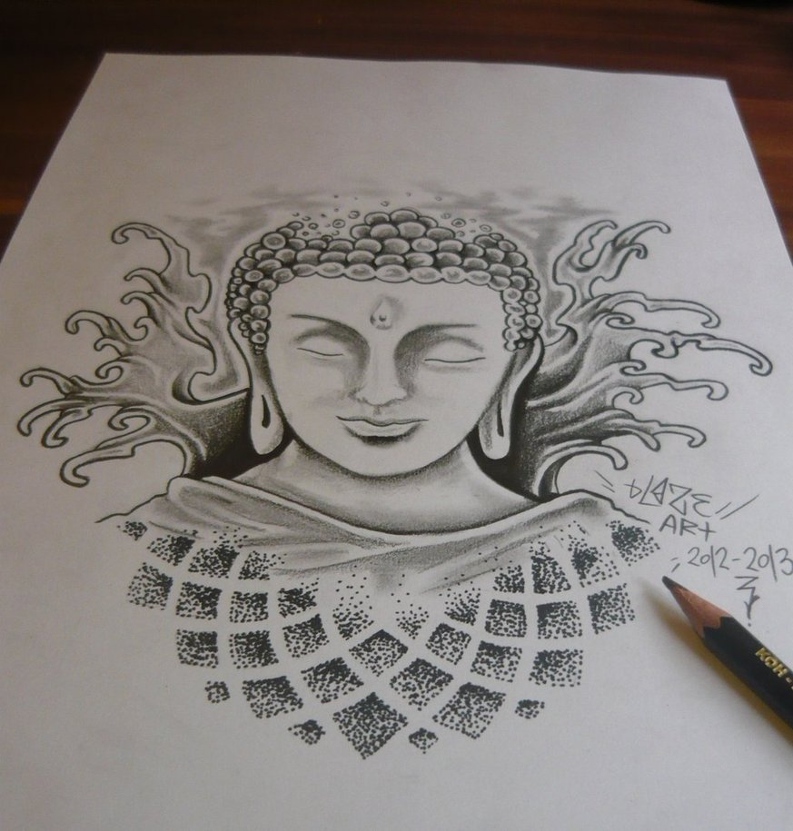 Buddha Sketch Drawing at GetDrawings com | Free for personal