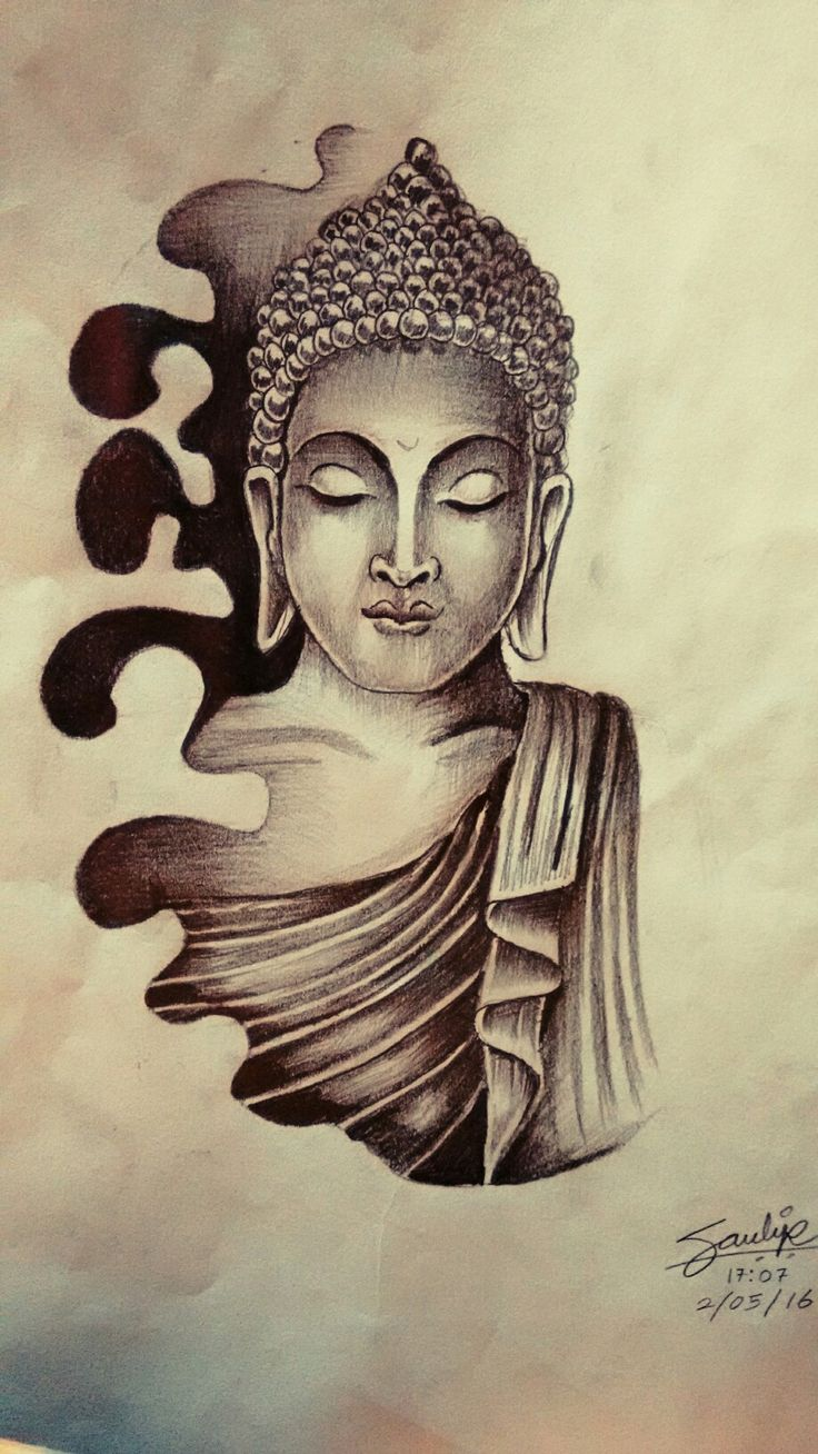 buddha tattoo drawing at free for personal use buddha tattoo drawing of your. Black Bedroom Furniture Sets. Home Design Ideas