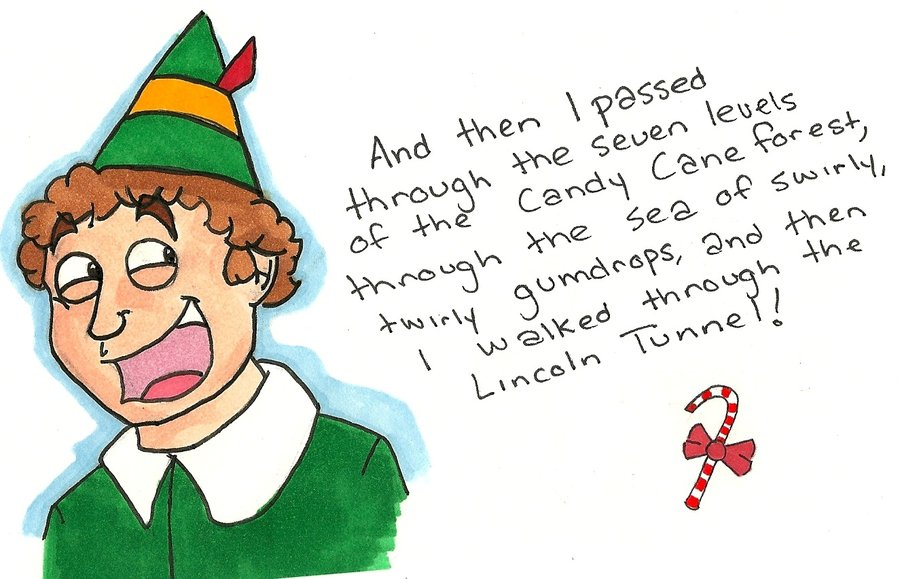 900x579 Buddy The Elf By St Jimmy7484