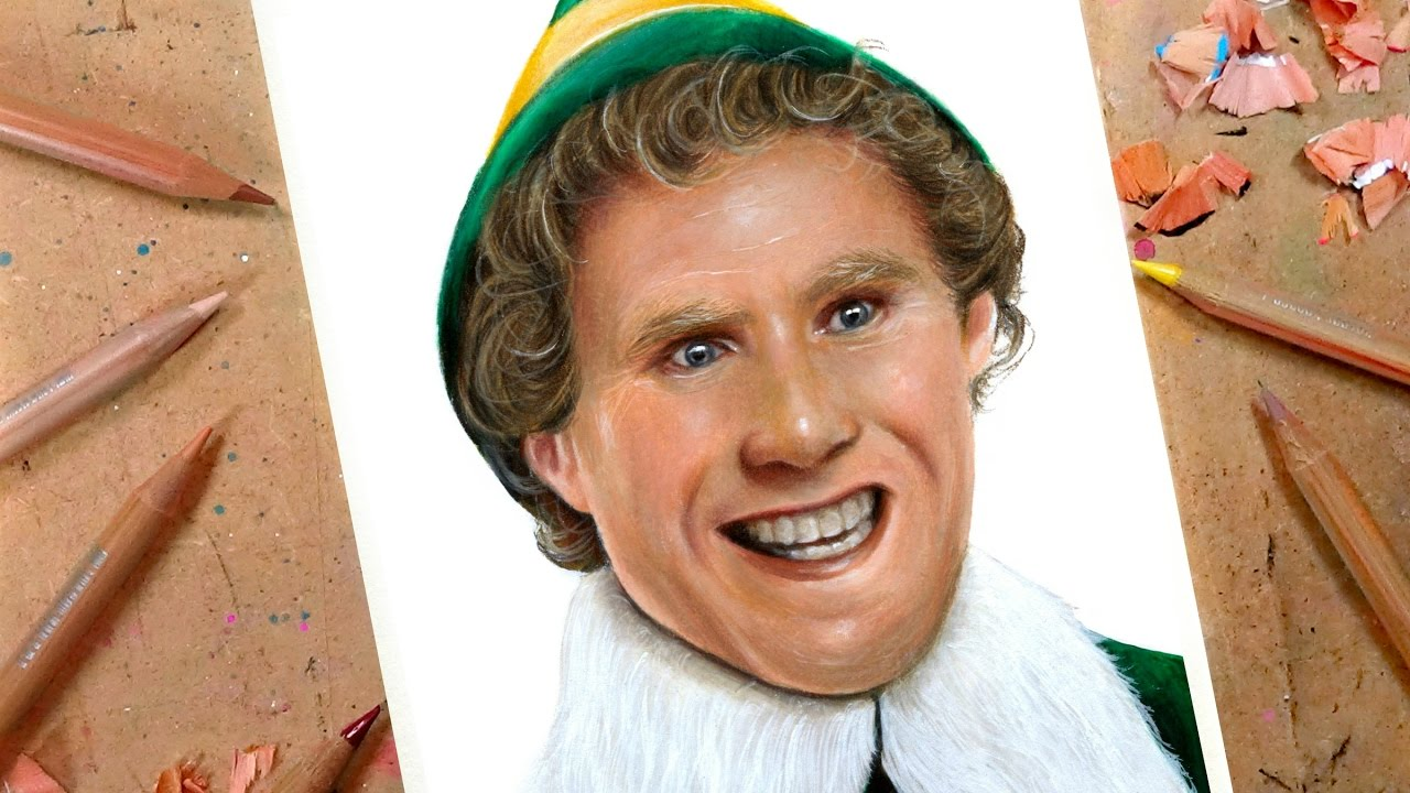 1280x720 Drawing Buddy The Elf Advent Day 14