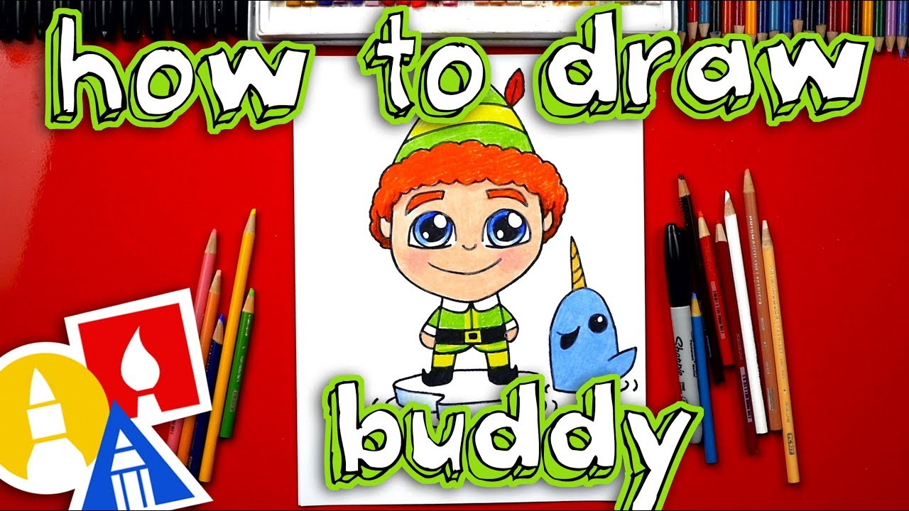 1280x720 How To Draw Buddy The Elf And Mr. Narwhal