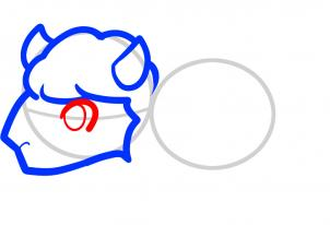 302x206 How To Draw How To Draw A Buffalo For Kids