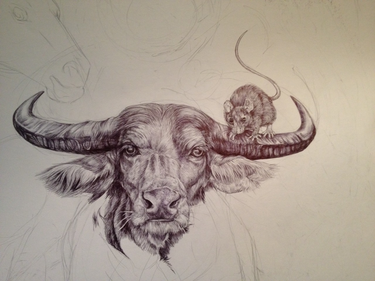 1280x960 I Spent My Summer Making A Massive Drawing Of The Chinese Zodiac