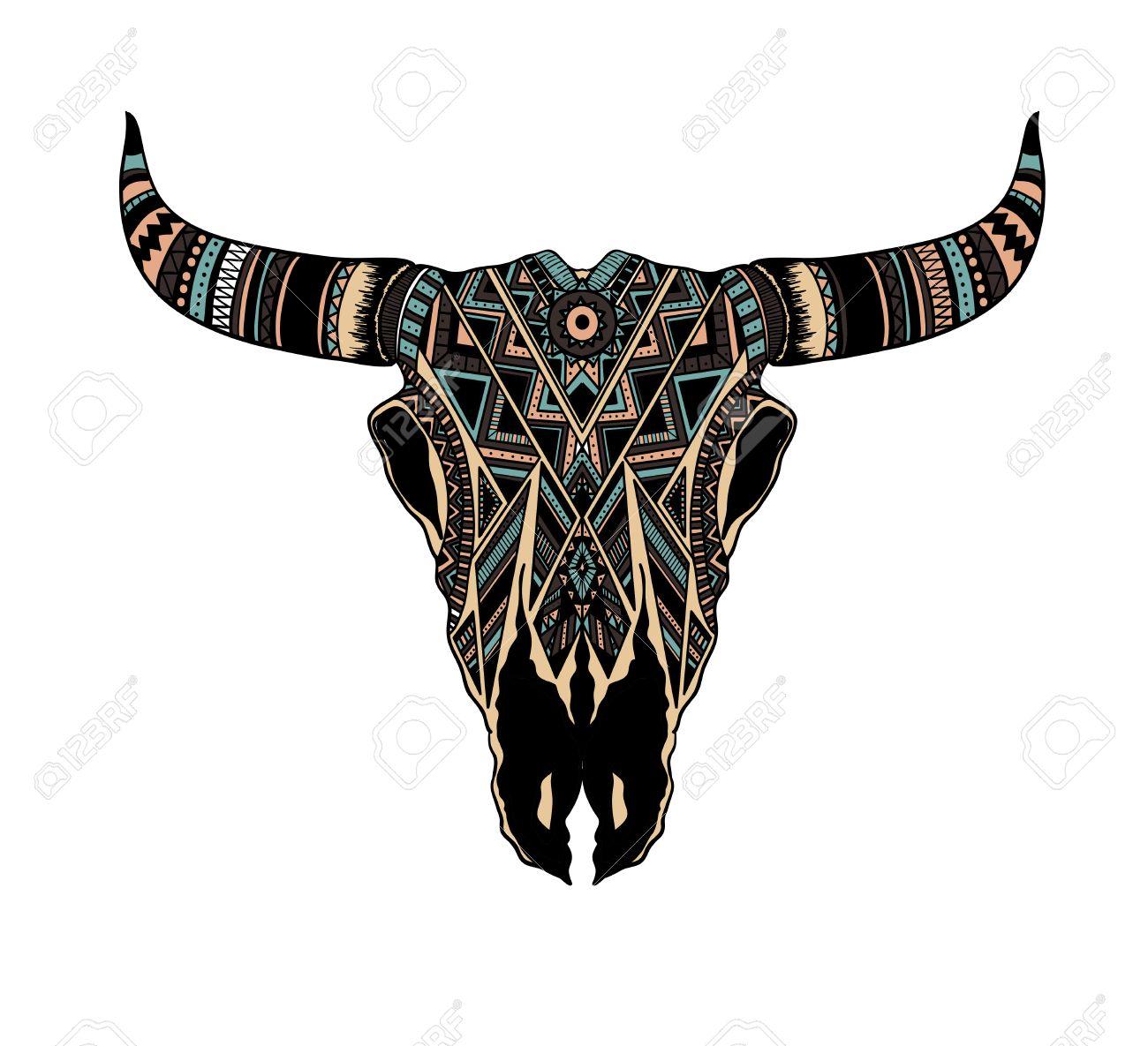 1300x1185 Gallery Native American Buffalo Skull Drawings,