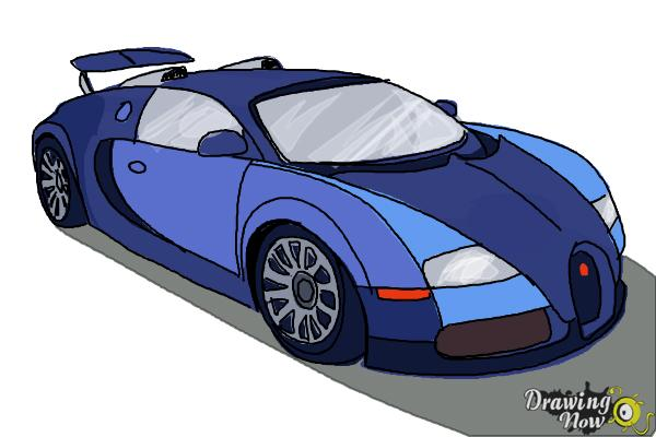 600x400 How To Draw A Bugatti