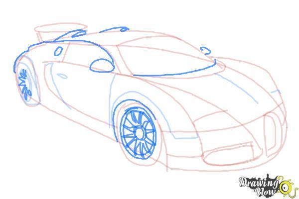 600x400 How To Draw A Bugatti