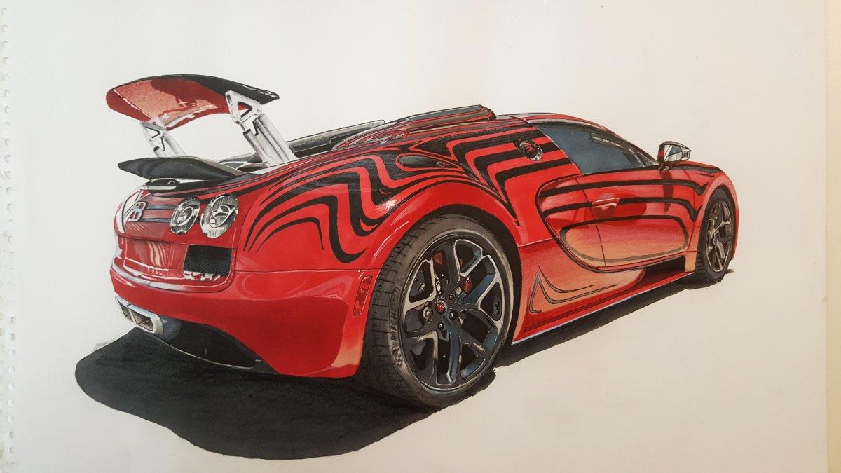 1200x675 Bugatti Veyron L'Or Design