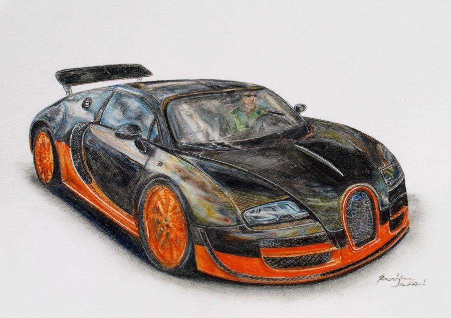 900x635 Bugatti Veyron Supersport By Kutiska