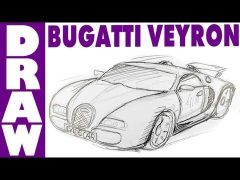 480x360 How To Draw A Bugatti Veyron Shoo Rayner Author