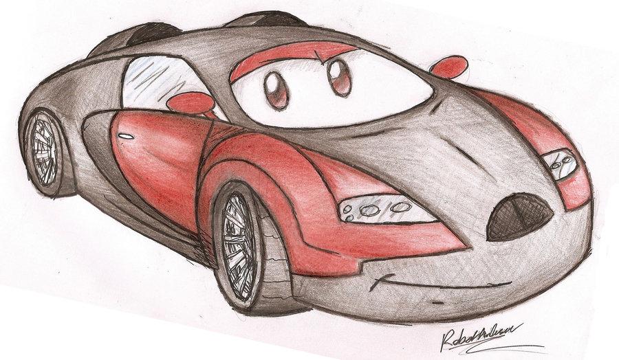 900x524 Robert The Bugatti Veyron By Robie Chan