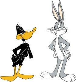 250x270 Bugs Bunny And Daffy Duck. How I Got My Goofy Sense Of Humor