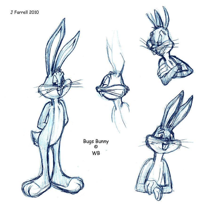 901x887 Bugs Bunny By Darkmane