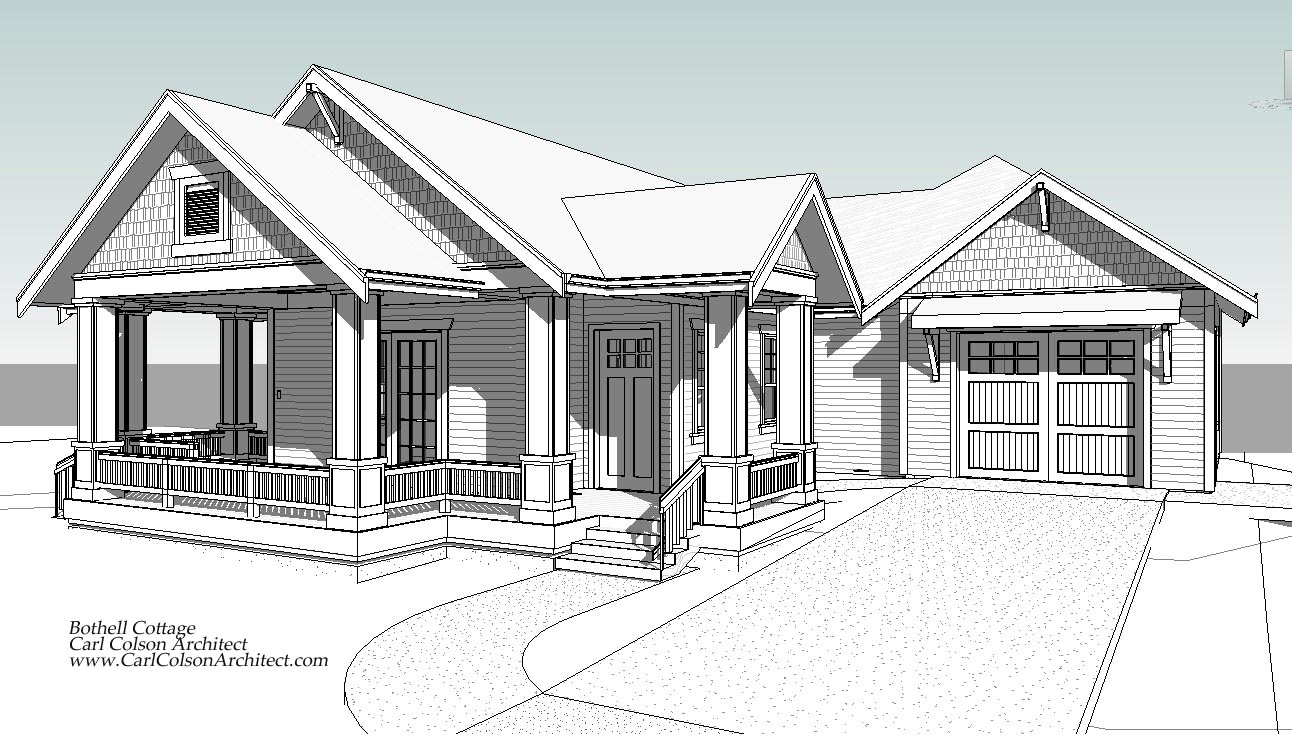 1292x738 Adu) Cottage Creating The Design Drawings