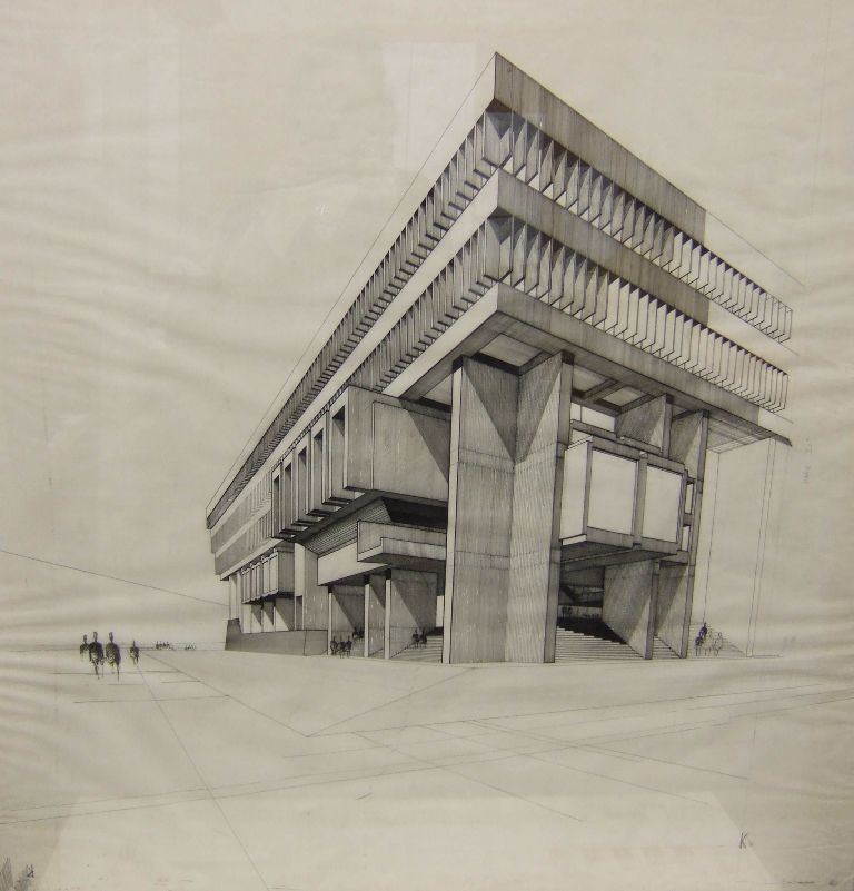 architectural drawings. 768x801 Architecture Drawing Preliminary Stage Competition Architectural Drawings E