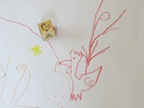 500x375 Building Block Drawing Game In Preschool Drawing Games, Drawings