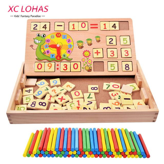 640x640 Multifunctional Montessori Building Blocks Addition Subtraction