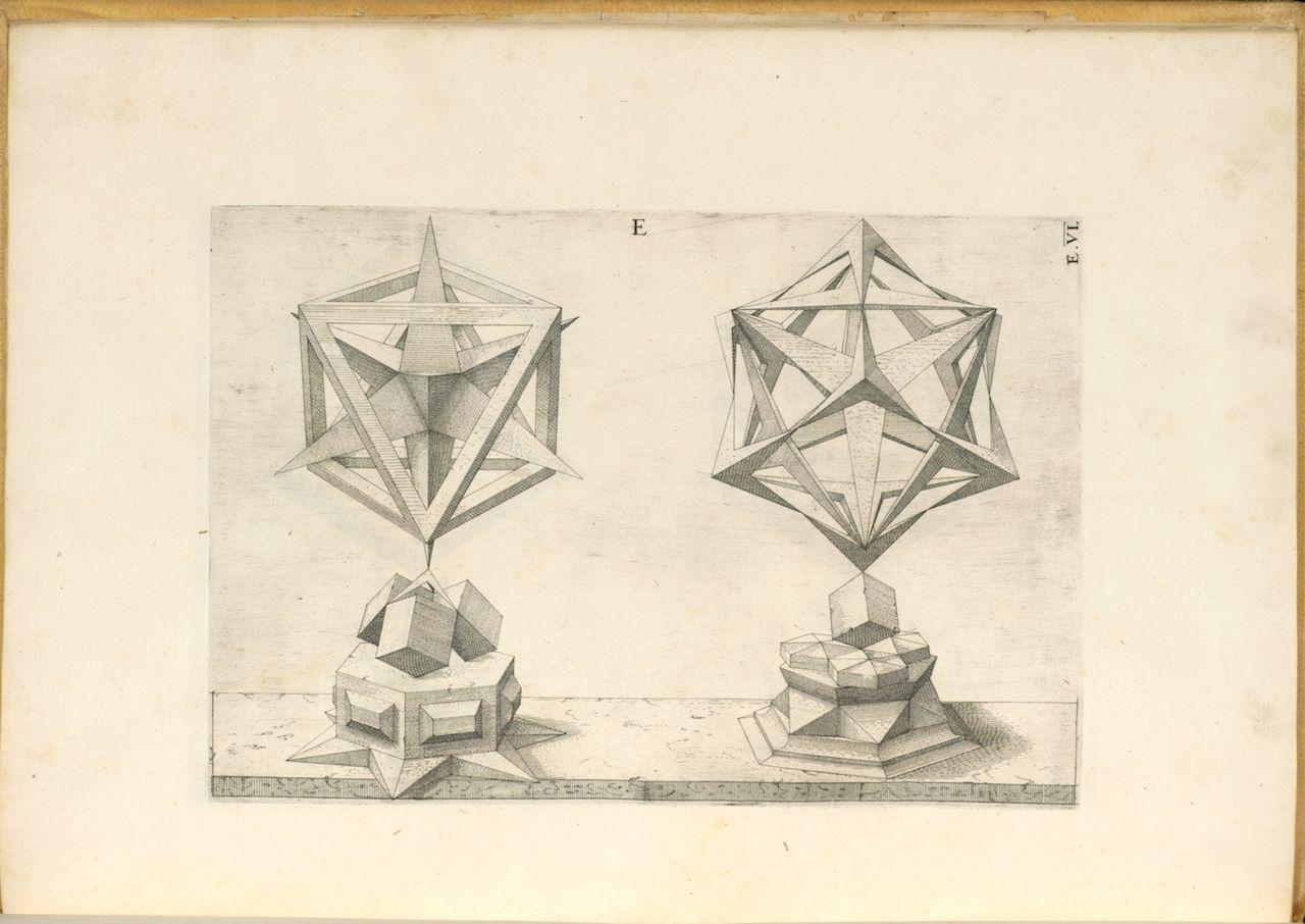 1280x906 Perspectiva Corporum Regularium (Perspective Of Regular Solids