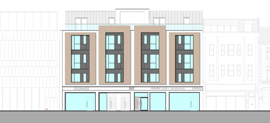 940x430 Apartment Building Elevation Modern Elevations
