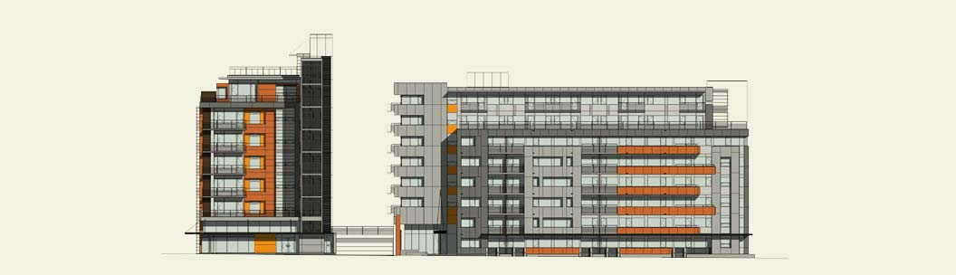 Commercial Building Elevation Drawing : Building elevations drawing at getdrawings free for