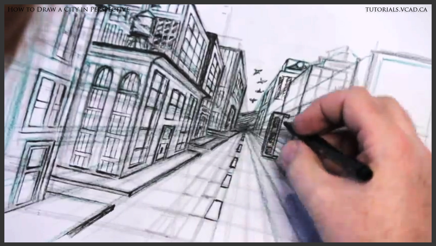 perspective drawings of buildings. Delighful Buildings 1700x960 Learn To Draw A City In One Point Perspective How  Free With Drawings Of Buildings