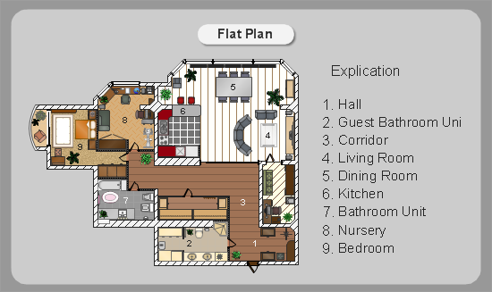 550x327 Building Plan Examples Examples Of Home Plan, Floor Plan, Office