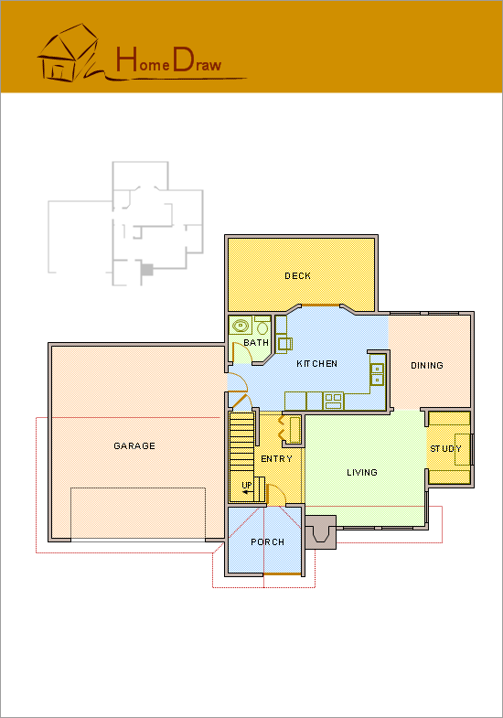 Example Of A House Plan Drawing - Escortsea