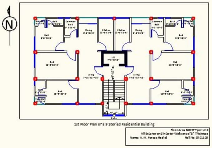 Building plan drawing at free for for Building planning and drawing free pdf download