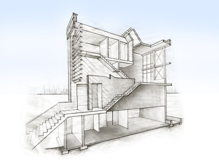 architectural buildings sketches.  Buildings 700x519 112 Best Building Section Images On Pinterest Architectural On Buildings Sketches