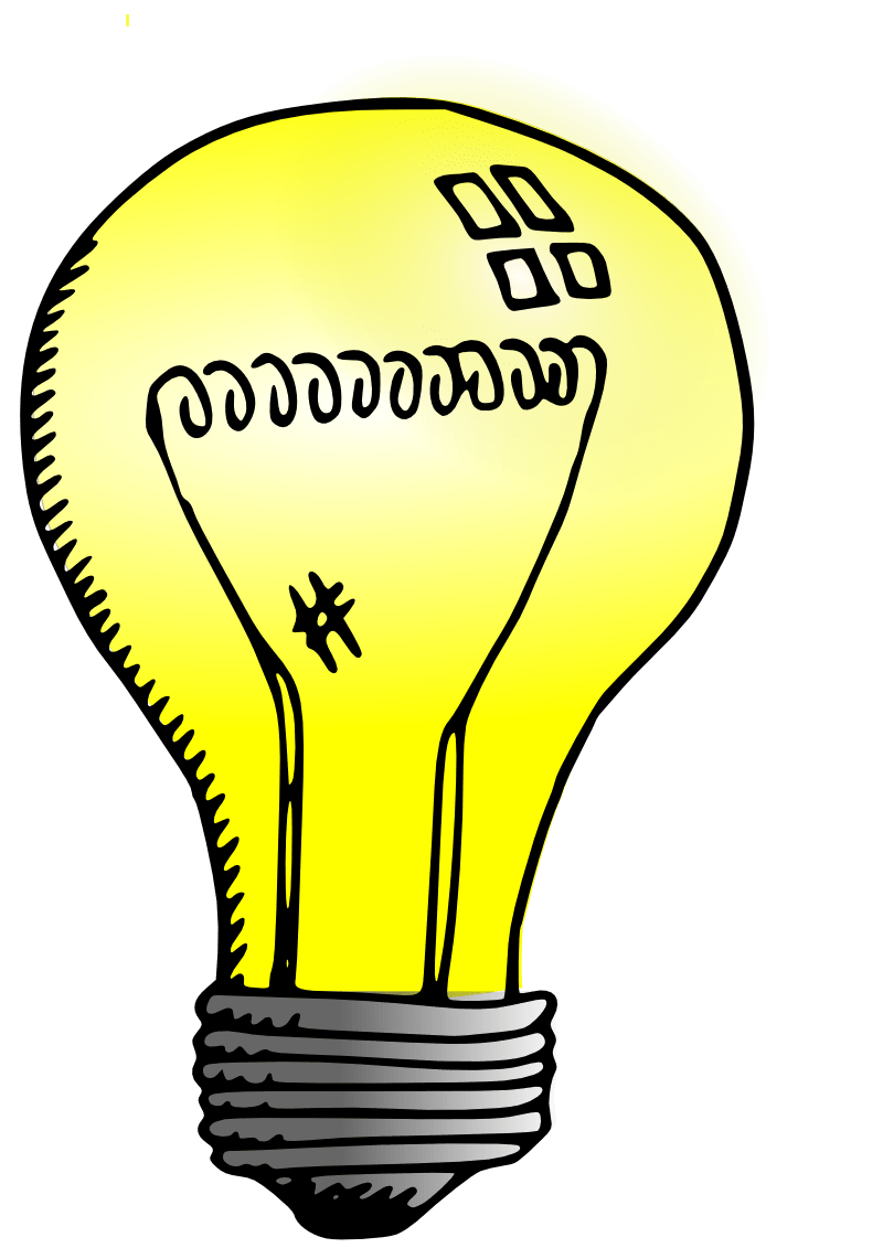 800x1131 Light Bulb Drawing Transparent Png
