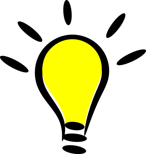 473x500 Light Bulb Drawing Public Domain Vectors