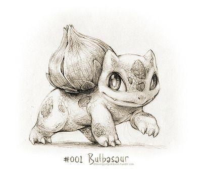 400x346 001 Bulbasaur