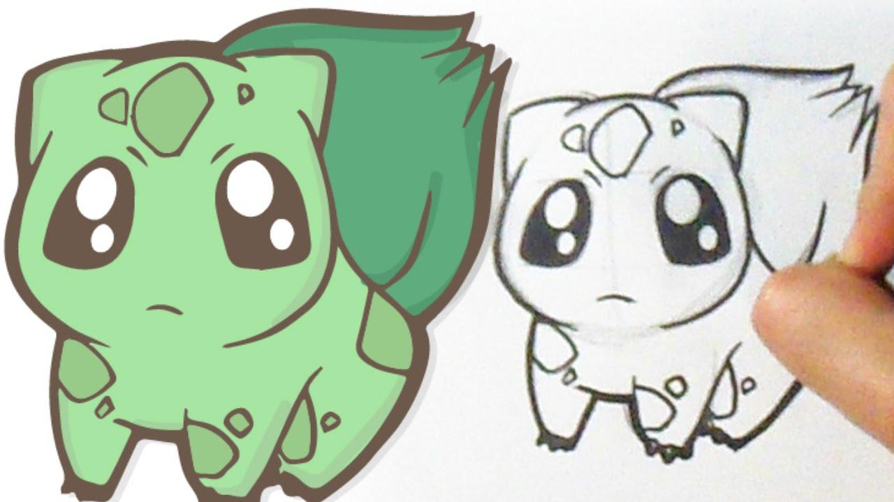 1280x720 Dibujar Tierno Bulbasaur How To Draw Cute