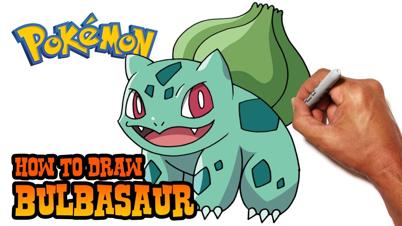 1280x720 How To Draw Bulbasaur Pokemon