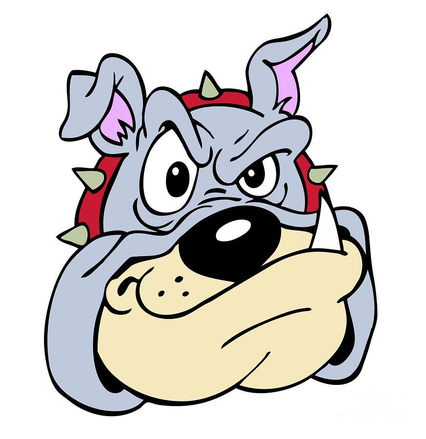 873x900 Bulldog Drawing By Michael Pulido