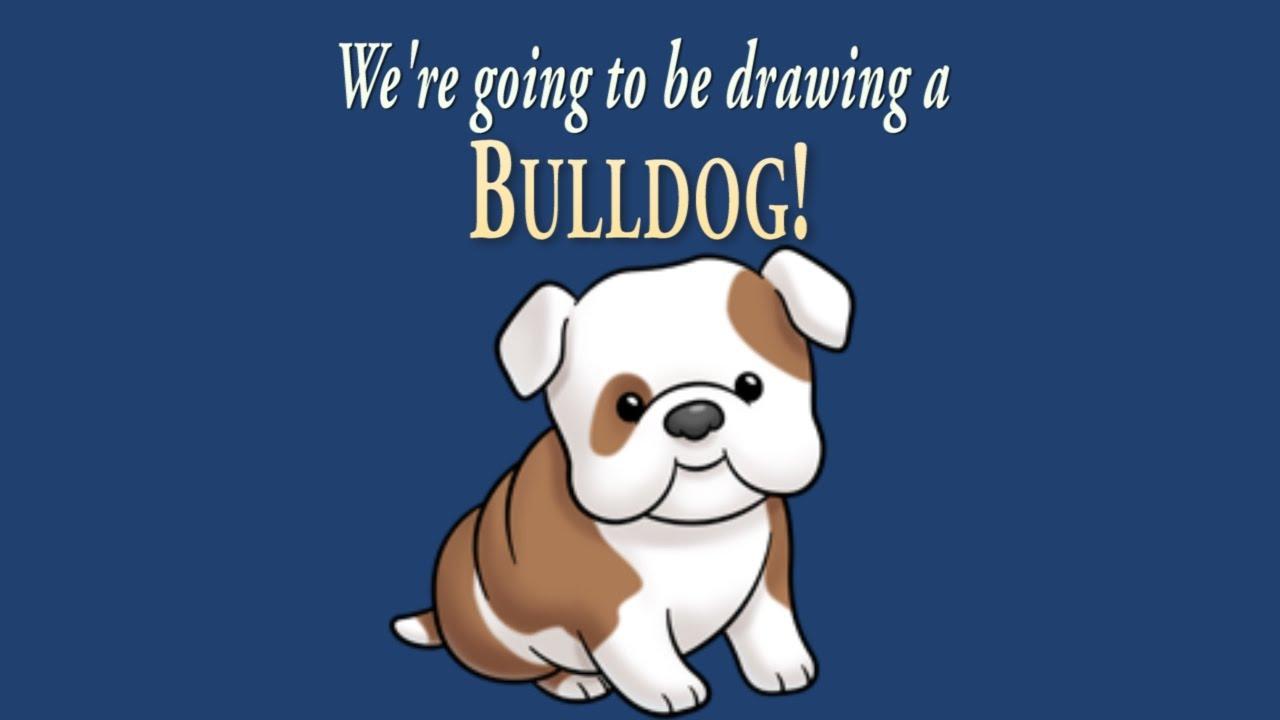 1280x720 How To Draw A Cute Little Bulldog Easy Drawing Artninja