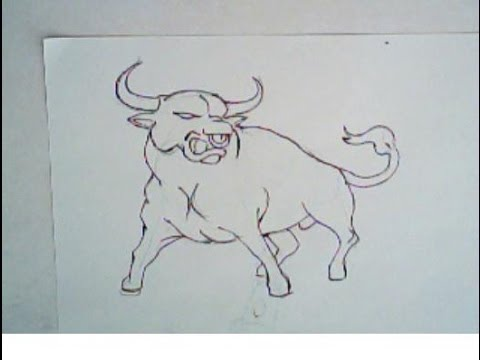 480x360 How To Draw An Angry Bull (Drawing Lesson, Tutorial)