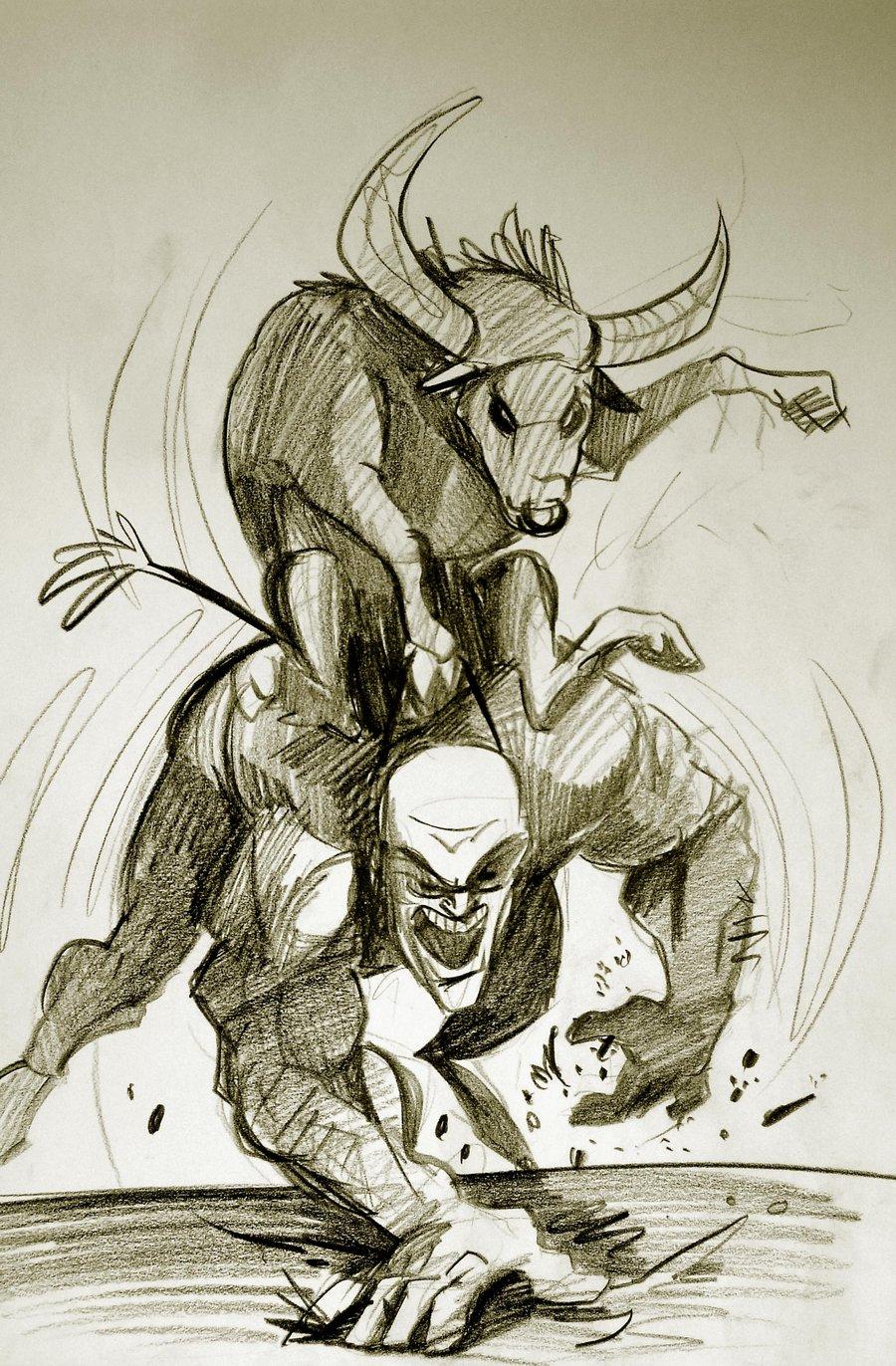 900x1372 Bull Riding Drawings Bull Riding Manheckthor