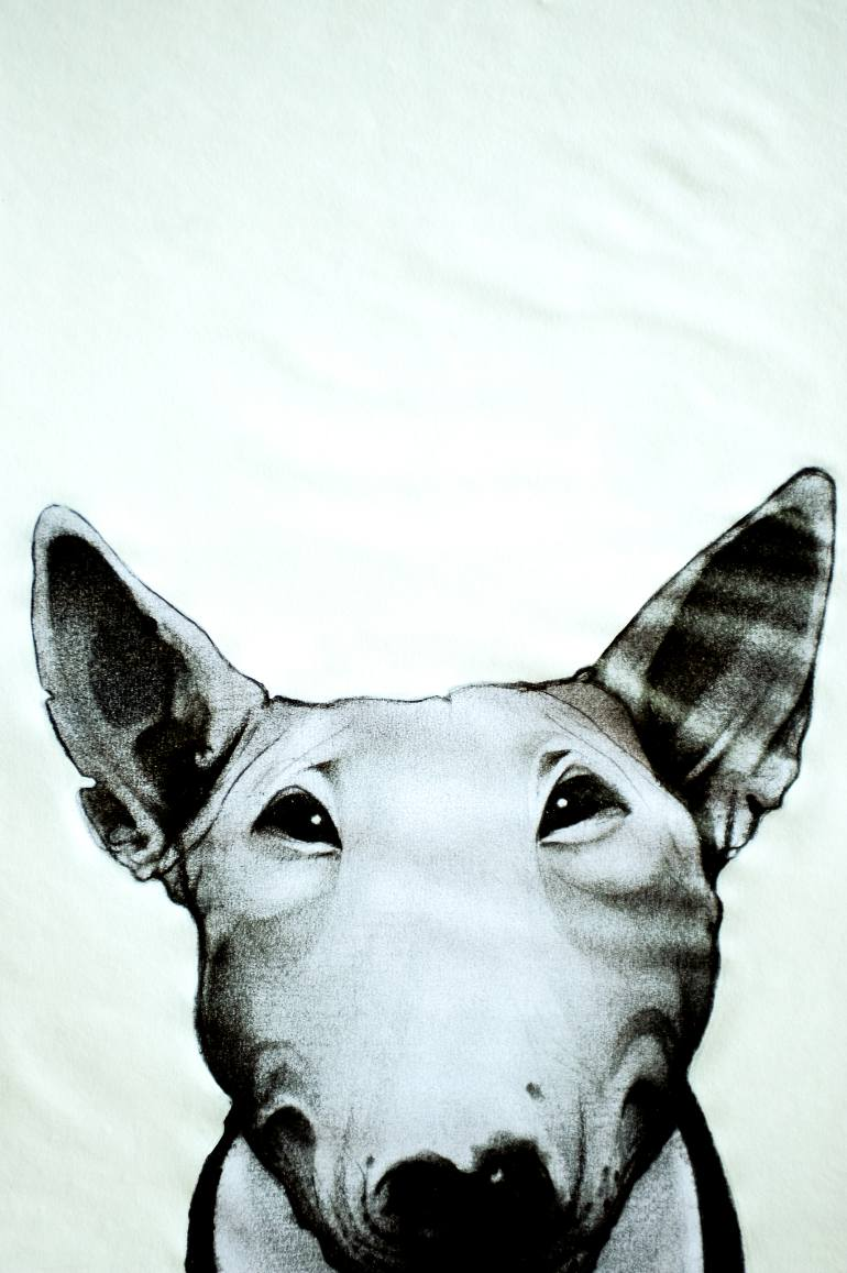 770x1157 Saatchi Art American Bull Terrier Drawing By Enrico Salvadori