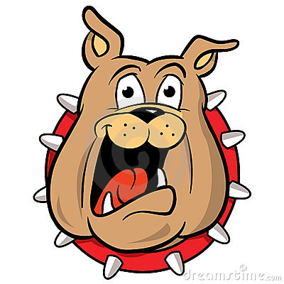 400x400 Bulldog Mascot Cartoon Illustration Great Sayingsart