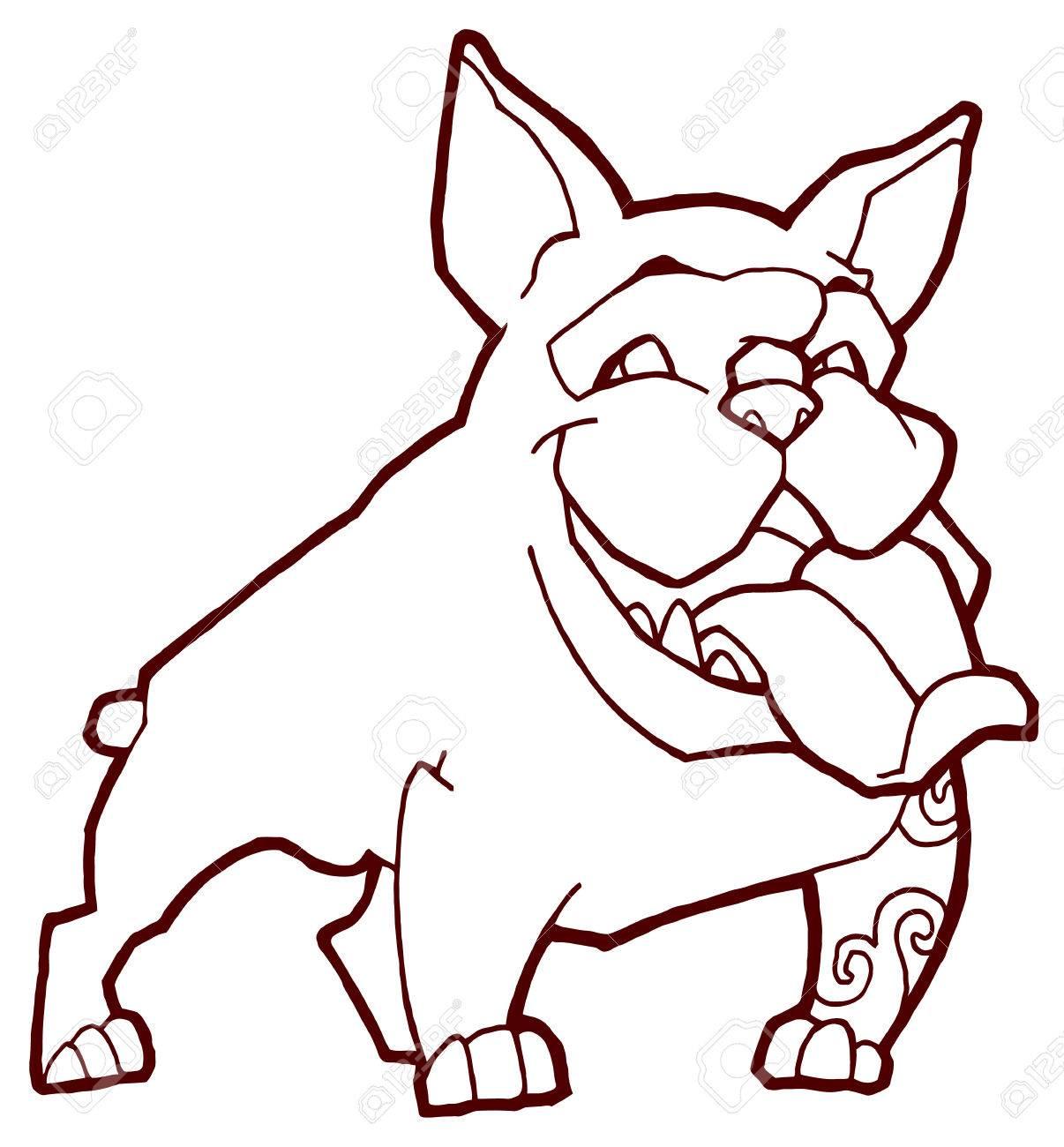 1206x1300 Happy Bulldog
