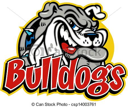 450x377 Bulldog Mascot Clipart Smirking