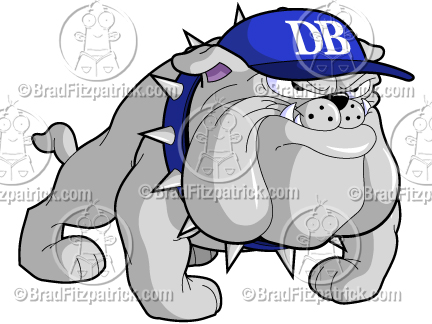 432x324 Cartoon Bulldog Clip Art Bulldog Graphics Bulldog Mascot