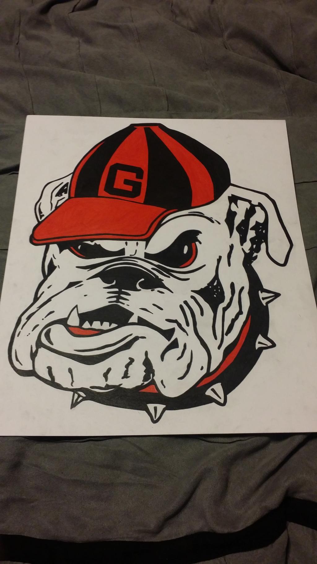1024x1820 Georgia Bulldogs Logo Natep0212 Foundmyself
