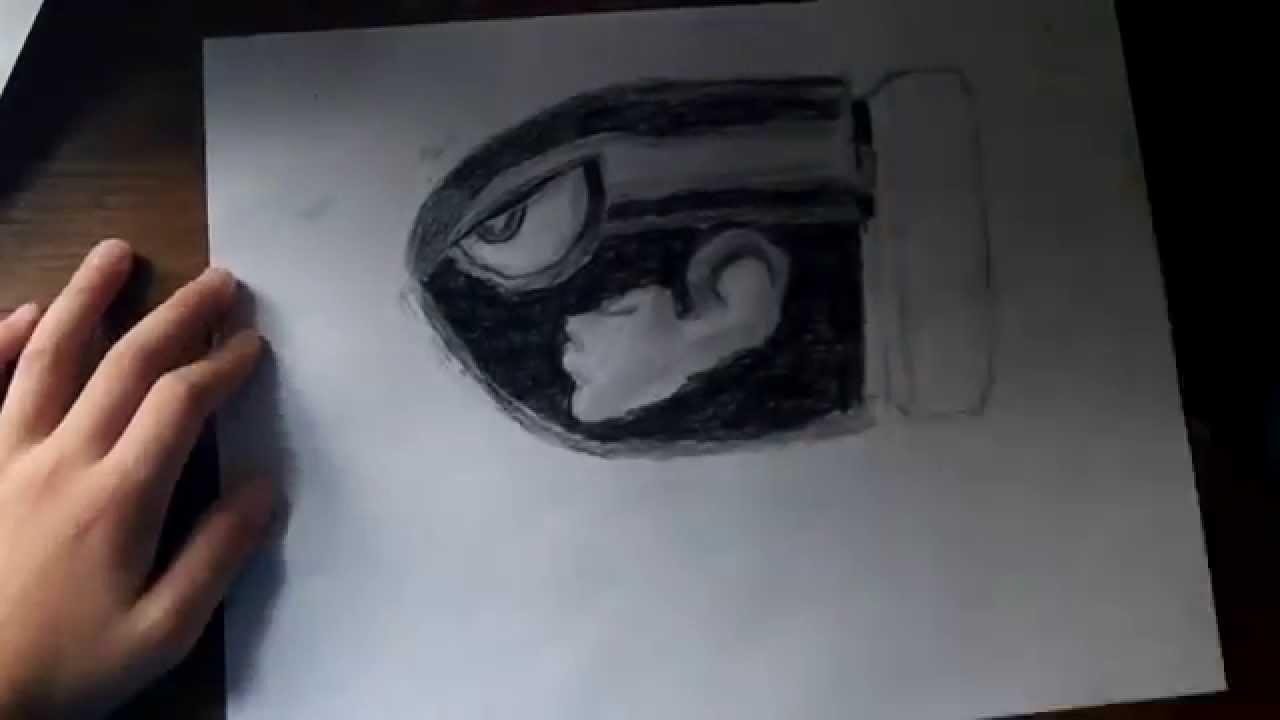 1280x720 Drawing Bullet Bill From Super Mario