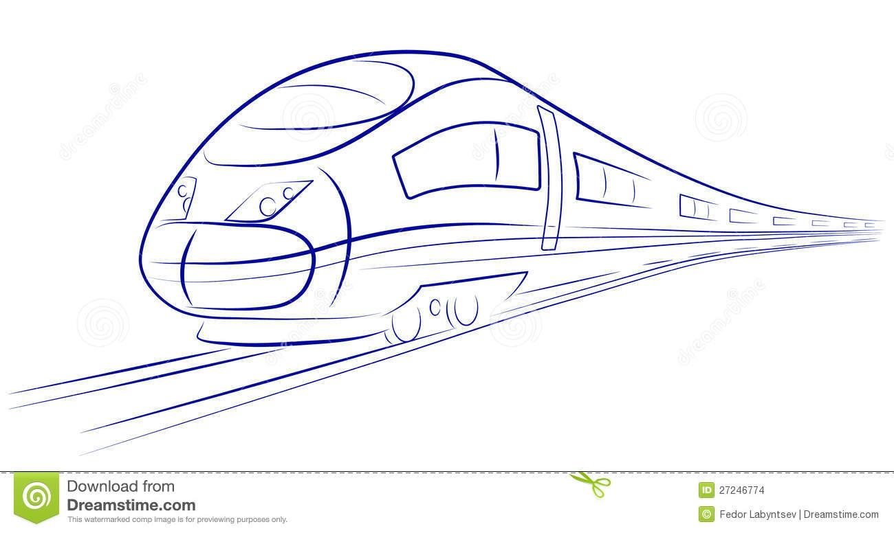 1300x776 Bullet Train Sketch Pic Bullet Train Sketch Pic Passenger High